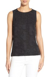 Women's Gibson Embossed Front Sleeveless Top
