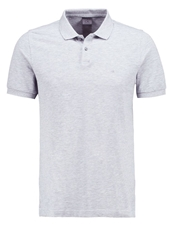 Ck Calvin Klein Pete Fitted Polo Shirt Heather Grey