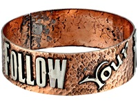 Gypsy Soule Follow Your Arrow Cuff Copper Silver Bracelet Metallic
