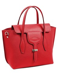 Tod's Small Grained Leather Joy Bag Fragola