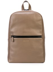 Common Projects Leather Backpack Grey