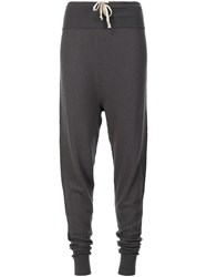 Rick Owens 'Pod' Knitted Trousers Grey