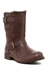 Australia Luxe Collective Easy Rider Genuine Sheepskin And Shearling Boot Brown