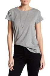 Articles Of Society Nancy Side Knot Tee Gray