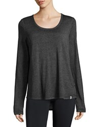 Marc New York Knit Keyhole Tee Black