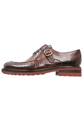 Melvin And Hamilton Trevor 13 Laceups Wood Tortora Dark Brown