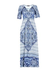 Hale Bob Long Dresses Azure