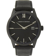 Larsson And Jennings Saxon 39M Automatic Watch Black
