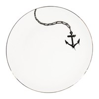 Rory Dobner Perfect Plates Anchors Away Black And White
