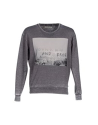 Maison Scotch Sweatshirts Grey