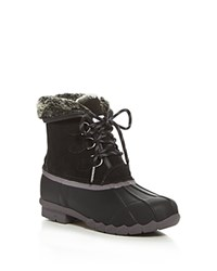 Sporto Defrost Cold Weather Duck Boots Black