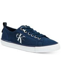 Calvin Klein Jeans Women's Dora Logo Sneakers Women's Shoes Navy