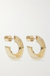Jennifer Fisher Drew Gold Plated Hoop Earrings One Size