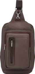 Barneys New York Men's Crossbody Backpack Brown
