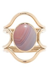 Mociun Women's 'Connection' Agate Ring Nordstrom Exclusive Yellow Gold