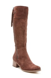 Naturalizer Women's Demi Mid Calf Boot Chocolate Suede