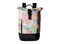 Sakroots Artist Circle Roll Top Backpack Neon Wild Life Backpack Bags Multi