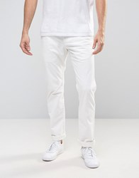 Celio Slim Fit Chino Ecru Cream