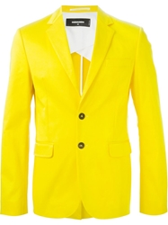 Dsquared2 Fancy Blazer Yellow And Orange