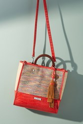 Anthropologie Marian Woven Tote Bag Assorted