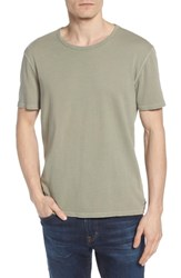 Ag Jeans Ramsey Slim Fit Crewneck T Shirt Weathered Dry Cypress