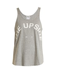 The Upside Issy Performance Tank Top Grey