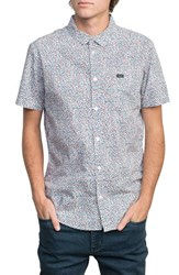 Rvca Happy Thoughts Woven Shirt White