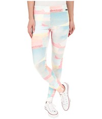 Converse Highway Print Poly Leggings Multi Women's Casual Pants