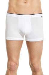 Nordstrom Men's Stretch Cotton Trunks White