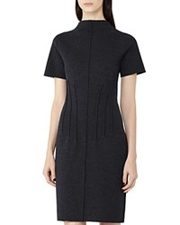 Reiss Joules Knit Sheath Dress Charcoal