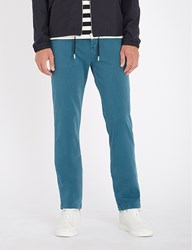 7 For All Mankind Slimmy Luxe Performance Slim Fit Chinos Deep Teal
