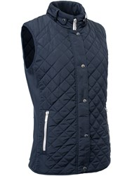 Abacus Winston Quilted Gilet Navy