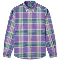Gitman Brothers Vintage Archive Madras Shirt Purple