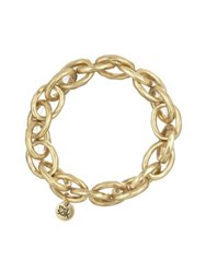 The Sak Goldtone Link Stretch Bracelet