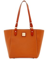 Dooney And Bourke Janie Pebble Small Tote Caramel