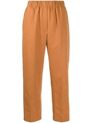 Forte Forte Crease Effect High Waisted Trousers 60