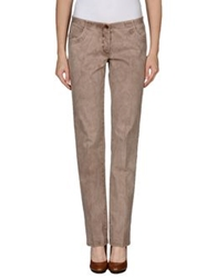 Irma Bignami Casual Pants Dove Grey