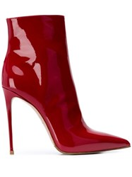 Le Silla Eva Ankle Boots Red