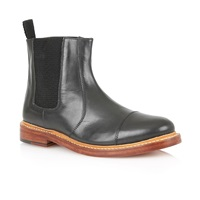 Lotus Lexton Slip On Casual Chelsea Boots Black