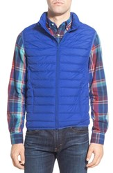 Nordstrom Men's Men's Shop Packable Quilted Down Vest Blue Surf