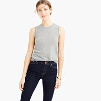 J.Crew Collection Featherweight Cashmere Shell Top
