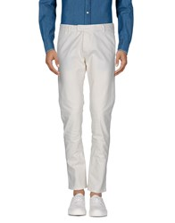 Officina 36 Casual Pants White