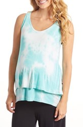 Everly Grey Women's Val Tiered Maternity Nursing Tank