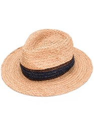 Paul Smith Woven Trilby Men Straw S Nude Neutrals