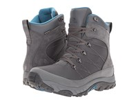The North Face Chilkat Nylon Dark Shadow Grey Prussian Blue Men's Boots Gray