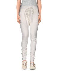 Please Trousers Casual Trousers Women White