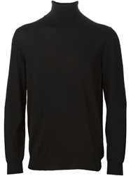 Zanone Turtle Neck Sweater Black