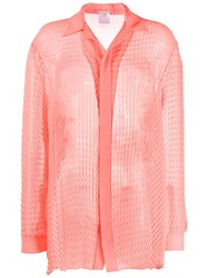 Marco De Vincenzo Textured Oversized Shirt 60