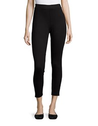 Ella Moss Cropped Leggings Black