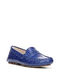 Sam Edelman Filly Leather Penny Loafers Royal Blue